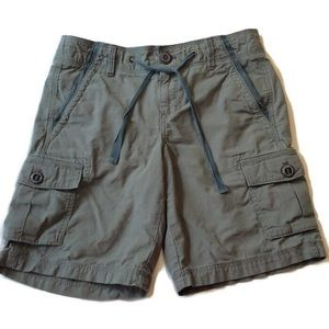 Eddie Bauer Cargo Shorts 8 gray Relaxed Outdoor M